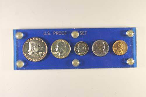 1954 US Mint Proof Set Proof - Set Proof Mint Us 1954