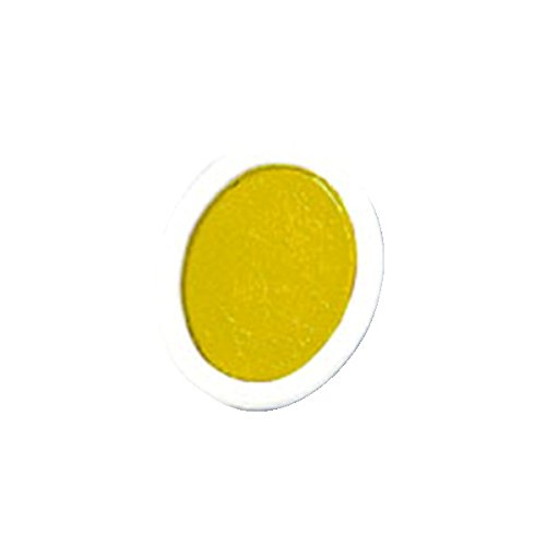 Prang Refill Pans for Oval Watercolor Set, 12 per Box, Yellow (00803)