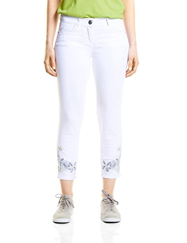 Donna 10000 Jeans Cecil white Bianco Slim wfCTqE