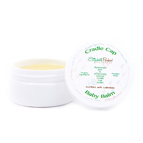 Cradle Cap Healing Balm - Gently Remove Flakes and Scales with Essential Oils - Baby Cradle Cap Remedy