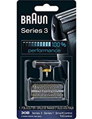 - Braun Series 3 30B Foil & Cutter Replacement Head, Compatible with 7000/4000 range of shavers; and Previous Generation Series 3