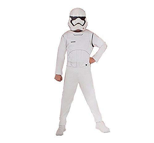 Star-wars Storm-trooper Children's Costume - Jumpsuit and mask - Medium (size (Very Easy Halloween Costumes For Guys)