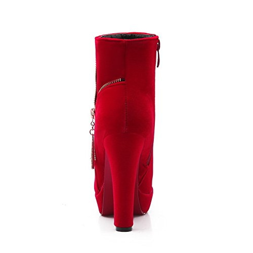 BalaMasa Sandales Red femme Sandales BalaMasa Compensées 6F84nzF