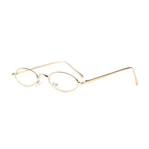 gafas en HuicaiCápsula ovales de gafas sol sol C12 forma unisex estrechas retro de de rrxaH8
