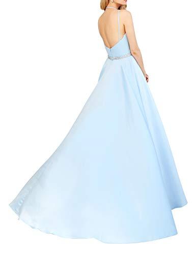 La Abendkleider Linie Ballkleider mia Elegant Braut Lang Satin Partykleider Rock A Lilac Einfach Abschlussballkleider 2018 rxFaSwqrYW