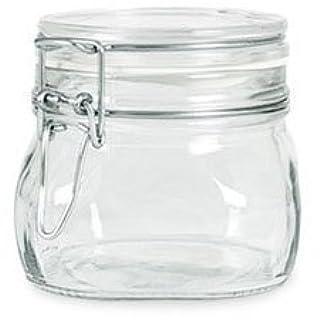 Bormioli Rocco Fido Italian Glass Facet Storage Canning Jars -.5 Liter (B0018MRAU2)   Amazon price tracker / tracking, Amazon price history charts, Amazon price watches, Amazon price drop alerts