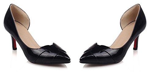 Kitten heel Cheville Escarpins Aisun Rendez Femme vous Fille Noir Sexy D'orsay tIqq7wpg