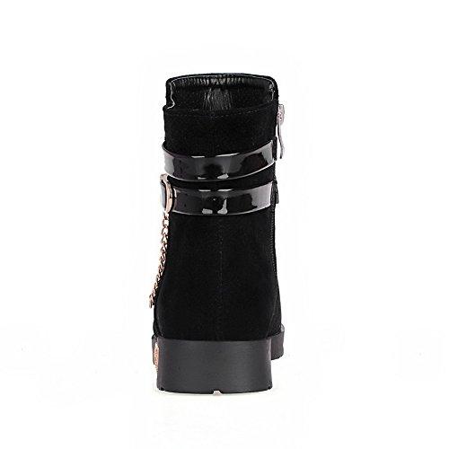 BalaMasa Abl10173, Sandales Plateforme femme - Noir - noir,