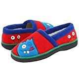 ACORN Monster Moc Slipper,Red,12.5-13.5 M US Little Kid