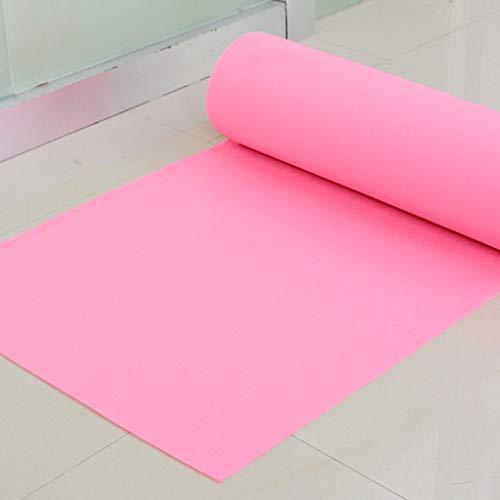 LIYUZHEN Wedding Carpet,Rug Multicolor Disposable Movie Premiere Floor Runner Multi-Functional Decoration Wedding Party Supplies Arrangement Thickness 2mm (Color : Pink, Size : -