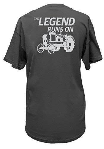 John Deere Limited Edition 100th Anniversary Vintage Tractor T-Shirt-Medium, ()