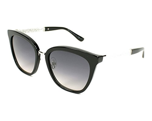 Jimmy Choo Fabry/S Sunglasses Black / Dark Gray Gradient by JIMMY CHOO