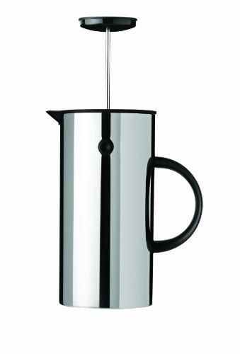 Stelton EM Press Coffee Maker, 8 cups, steel