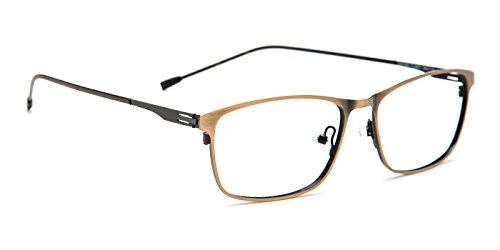 Metal Contrast Color Rx Eyeglasses 196 (196 Eyeglasses)