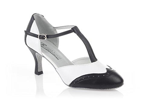 Exclusive Dance Shoes Tanzschuhe Rockabilly Swing schwarz weiß