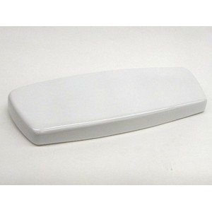 Toto TCU743CRE#01 Tank Lid with E-Max Lid Sticker for Drake ST743E Toilet Tank, Cotton -