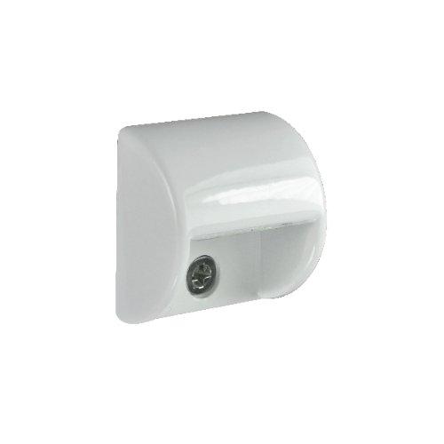 Lumitec 101046 Andros Courtesy Light, White Powder Coat Housing, White Light