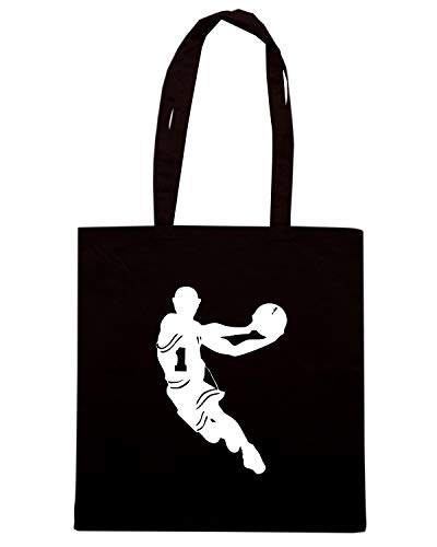 Borsa BASKETBALL Speed Nera SILHOUETTE Shopper OLDENG00405 Shirt 5HHqXA