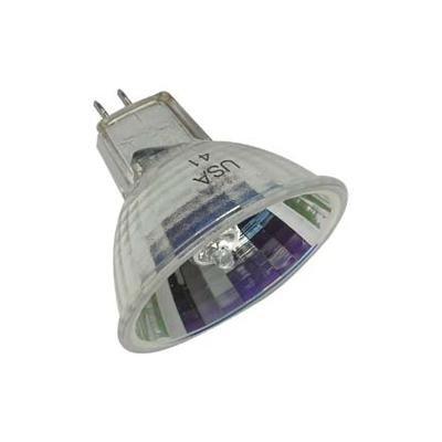 Ge 21613 Overhead Projection Halogen Lamp, Quartzline Multi-mirror Tech, Bulb Shape Mr16, Base Gy5.3, 82 Volt Input, 410 Watt, 3300 K Color Temperature. 12-pack