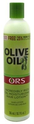 Ors Olive Oil Incredibly Rich Moisturizing Hair Lotion 8.5oz (3 Pack) by Organic Root (ORS)