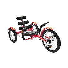 Mobo Mobito: The Ultimate 3-Wheeled Cruiser, Youth, Red