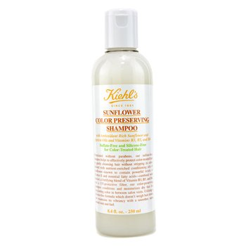 7. KIEHL's Sunflower Color Preserving Shampoo for Color-Treated Hair for Unisex - Best Shampoo for Color Preservation