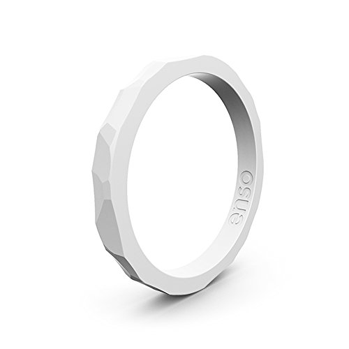 Premium Fashion Forward Silicone Ring Hypoallergenic Medical Grade Silicone Stack Styles Enso Rings Column Stackable Silicone Ring Lifetime