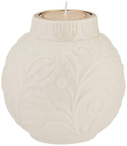Holly Votives - Lenox 879221 Ornamental Glow Holly Votive with Tealight, 2 Piece