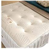 "DOUBLE MEMORY FOAM 4FT6 DOUBLE 10"" THICK MATTRESS WITH OPEN COIL SPRING SYSTEM"