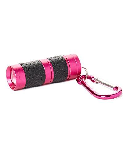 LUX-PRO LP130 40 Lumen Keychain LED Focus Light,Pink -