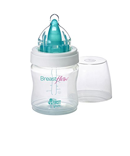 The First Years 1 Pack Breastflow Bottle, 5 Ounce