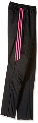 Large Product Image of adidas Youth Soccer Tiro 17 Pants, Medium - Black/Shock Pink