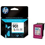 HP 901 - Print cartridge - 1 x colour (cyan, magenta, yellow) - 360 pages - blister