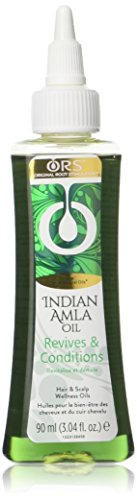 ORS Indian Amla Oil Revives & Conditions, 3.04 Ounce