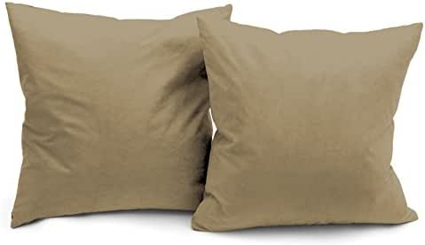 Deluxe Comfort Microsuede Throw-Pillows, 16
