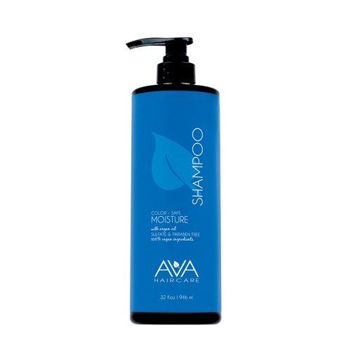Ava Haircare - Moisturizing Shampoo - Vegan, Sulphate Free, Paraben Free, Cruelty Free - Natural Shampoo (33oz)