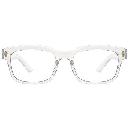 Cyxus Blue Light Blocking Computer Glasses for Anti Eye Strain UV Transparent Lens Black Frame Reading Glass Unisex (Men/Women) (8084T34, ()