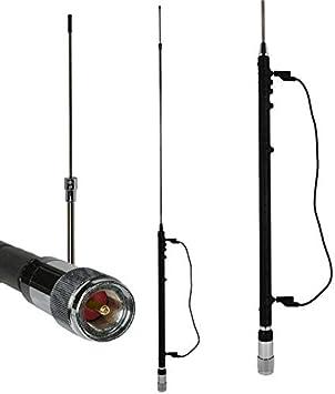 ATC-0680 W Antena de vehículo 9 bandas para HF+6M COMTRAK 400012