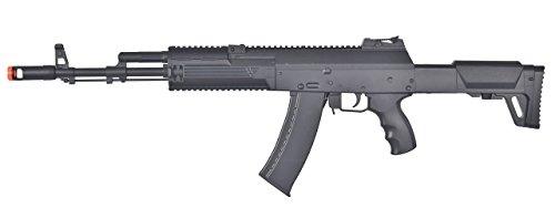 WELL AK-12 AEG Semi/Full Auto Electric Airsoft Rifle Gun Ver. 3 Gearbox High Capacity Magazine FPS 260