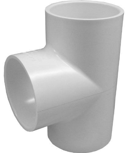 (Genova Products 31410CP 1-Inch PVC Pipe Tee - 10 Pack)