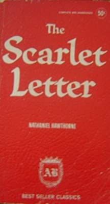 The Scarlet Letter Best Seller Classic Series Red Faux Leather Cover
