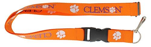 (aminco NCAA Clemson Tigers Team Lanyard,)