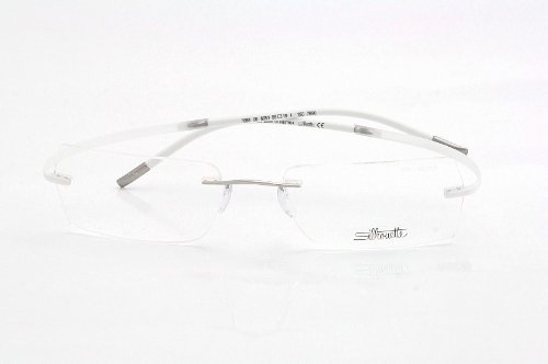 5f57c4b5bc Silhouette Eyeglasses Spx Art 7690 6051 Pure White Optical - Import It ...