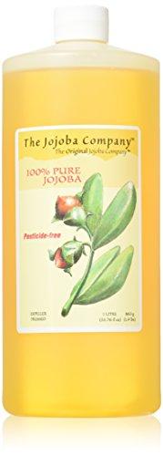 Pesticide-Free HobaCare Jojoba, 1 Litre(33.76 fl oz) 100% Pure, First-Press Unrefined Jojoba With No Added Ingredients or Fillers.