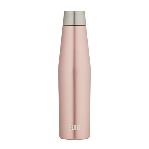 BUILT 5233259 Perfect Seal Apex Insulated Tumbler, 18-ounce, Rose Gold