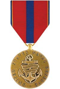 (Medals of America Naval Reserve Meritorious Service Medal Bronze)