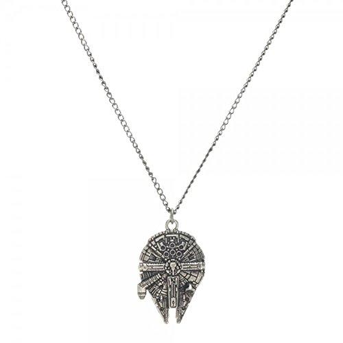Bioworld Star Millennium Falcon Necklace product image