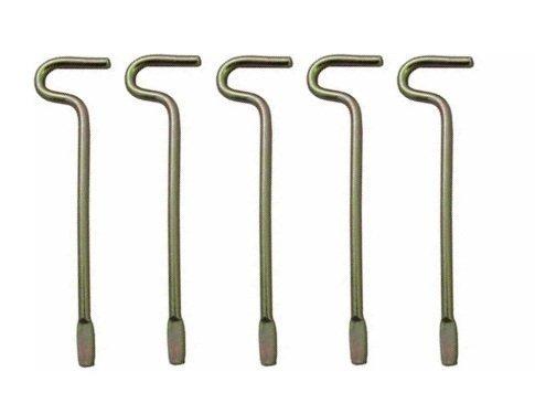 - 8 Kwikset Emergency Keys for Interior Door Locksets (8) (Original Version)