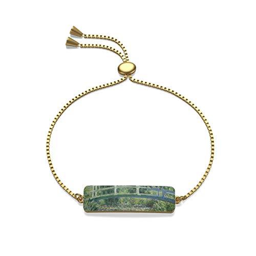 NoLag Art Printing Box Chain Bracelet - Monet - The Japanese -
