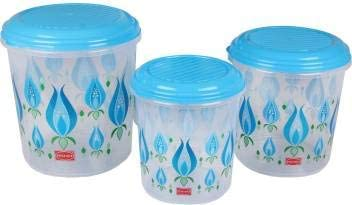 Polyset Galaxy Container Pack of 3 Blue  Kitchen Storage   Containers